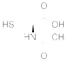 Structure of N Acetyl L Cysteine CAS 616 91 1 - N-Acetyl-L-Cysteine CAS 616-91-1