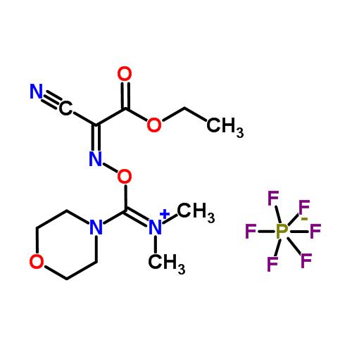 structure of COMU CAS 1075198 30 9 - OxymaPure CAS 3849-21-6