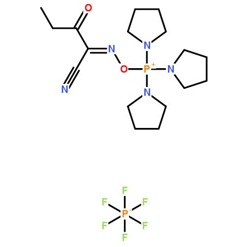 structure of Pyoxim CAS 153433 21 7 - OxymaPure CAS 3849-21-6
