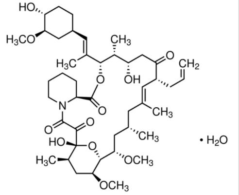 Structure of Tacrolimus CAS 109581 93 3 492x400 - Tacrolimus CAS 109581-93-3