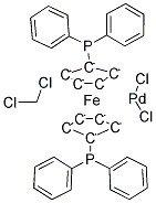 1,1′-Bis(diphenylphosphino)ferrocene-palladium(II)dichloride dichloromethane complex CAS 95464-05-4