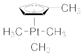 Structure of TrimethylmethylcyclopentadienylplatinumIV CAS 94442 22 5 - (Pentamethylcyclopentadienyl)iridium(III) chloride dimer CAS 12354-84-6
