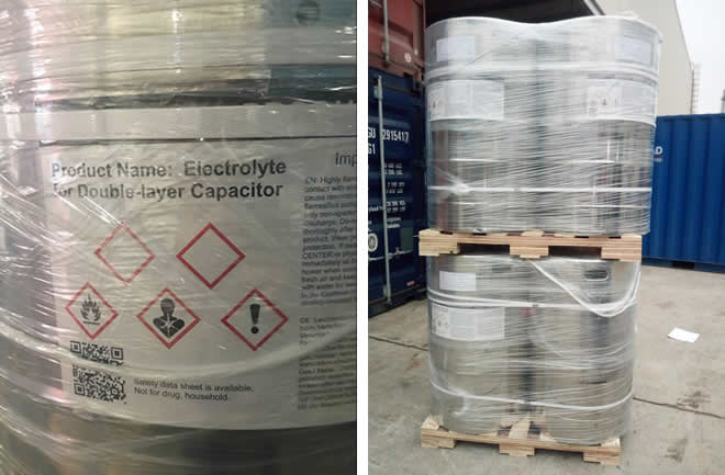 Packing and Shipping of TEABF4+ACN CAS 429-06-1(1)