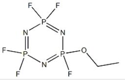 2-Ethoxy-2,4,4,6,6-pentafluoro-1,3,5,2,4,6-triazatriphosphorine CAS 33027-66-6