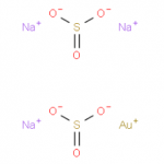 Gold(I) trisodium disulphite CAS 19153-98-1