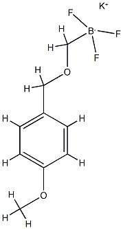 Potassium (4-methoxy)benzyloxymethyltrifluoroborate CAS 1027642-26-7