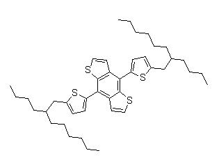 4,8-Di(5-(2-butyloctyl)thiophen-2-yl)-benzo[1,2-b:4,5-b']dithiophene CAS 1443120-32-8