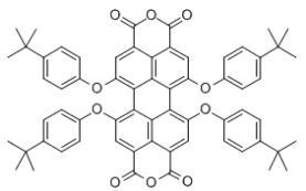 1,6,7,12-Tetra-tert-butylphenoxyperylene-3,4,9,10-tetracarboxylic dianhydride CAS 156028-30-7