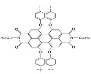 1,6,7,12-Tetra-tert-butylphenoxyperylene-3,4,9,10-tetracarboxylic dianhydride CAS 545387-15-3
