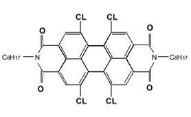 1,6,7,12-tetra-t-butylphenoxy-N-N' – bis(n- octyl) – perylene – 3,4,9,10 – tetracarboxylic dianhydride CAS 95689-65-5