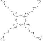 Tetrakisepoxy cyclosiloxane CAS 257284-60-9