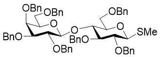 Methyl 2,3,4,6-tetra-O-benzyl-¦Â-D-galactopyranosyl-(1¡ú4)-2,3,6-tri-O-benzyl-1-thio-¦Â-D-glucopyranoside CAS 183239-13-6