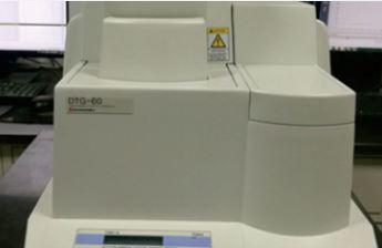 Thermogravimetric analyzer - Component Analysis
