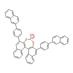 S- 4-oxide–hydroxy-2,6-bis[4-(2-naphthalenyl)phenyl]-Dinaphtho[2,1-d:1′,2′-f][1,3,2]dioxaphosphepin CAS 871130-15-3