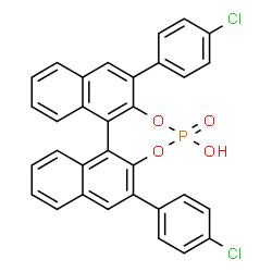 (11bR)-2,6-Bis(4-chlorophenyl)-4-hydroxy-4-oxide-dinaphtho[2,1-d:1′,2′-f][1,3,2]dioxaphosphepin CAS 922711-71-5