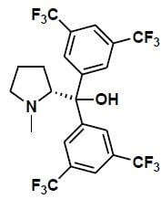 (R)-bis(3,5-bis(trifluoromethyl)phenyl)(1-methylpyrrolidin-2-yl)methanol CAS WICPC00037