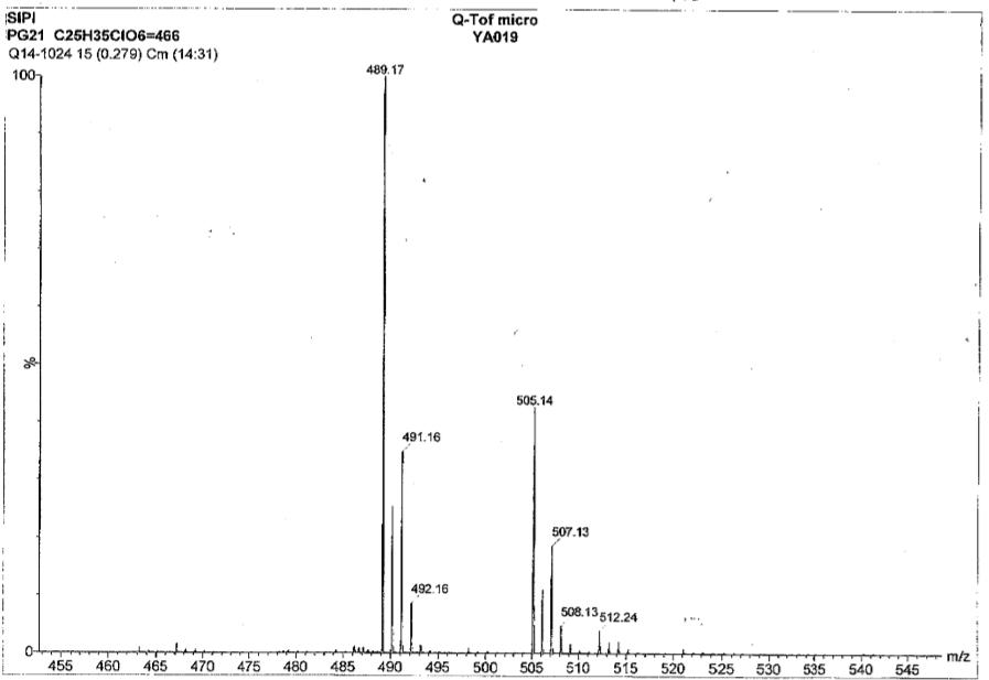 Cloprostenol isopropyl ester CAS 157283 66 4 MS 3 - Cloprostenol isopropyl ester CAS 157283-66-4