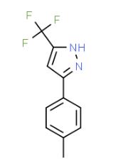 3-(TRIFLUOROMETHYL)-5-P-TOLYL-1H-PYRAZOLE CAS 26974-15-2