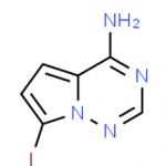 4-amino-7-iodopyrrolo[2,1-f][1,2,4]triazine CAS 1770840-43-1
