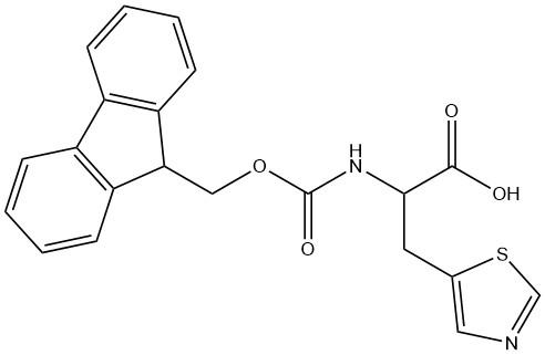 Fmoc-3-Ala(5-thiazoyl)-OH CAS 870010-07-4