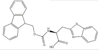 Fmoc-beta-(benzothiazol-2-yl)-L-alanine CAS 959583-56-3
