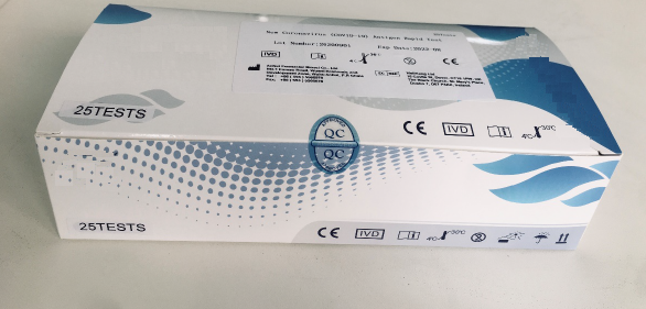 3 - New Coronavirus (COVID-19) Antigen Rapid Test Kit (swab)