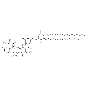 124579 05 1 1 - GalNACB1,3Gala1,4Galb1,4Glc Ceramide CAS WUNA-0014