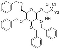 74808 09 6 1 - 2,3,4,6-Tetra-O-benzyl-alpha-D-glucopyranosyl trichloroacetimidate CAS 74808-09-6