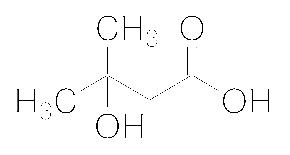 Structure of 3 Hydroxy 3 methylbutanoic acid CAS 625 08 1 - PF-07321332 CAS 2628280-40-8