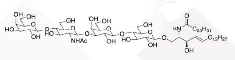 WUNA 0008 1 - GalNACB1,3Gala1,4Galb1,4Glc Ceramide CAS WUNA-0014