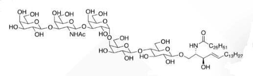 Galb1,3GalNAcb1,3Gala1,4Galb1,4Glc Ceramide CAS WUNA-0016