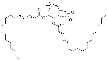 1,2-Di-[(2E,4E)-2,4-octadecadienoyl]-sn-glycero-3-phosphocholine CAS 95721-44-1