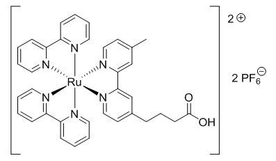 Tris(2,2'-bipyridyl) ruthenium carboxylic acid CAS CE-0005