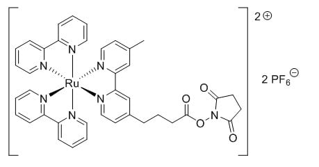 Structure of TAG NHS Ester CAS 161698 59 5 - ADP-Star CAS CE-0008