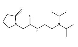 Structure of Pramiracetam CAS 68497 62 1 - PF-07321332 CAS 2628280-40-8