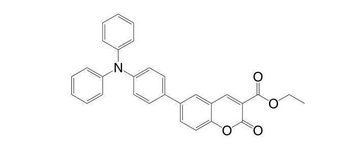 Ethyl 6-[4-(diphenylamino)phenyl]coumarin-3-carboxylate CAS 1056693-13-0