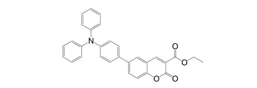 1056693 13 0 - Ethyl 6-[4-(diphenylamino)phenyl]coumarin-3-carboxylate CAS 1056693-13-0