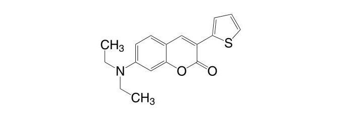 7-(Diethylamino)-3-(2-thienyl)coumarin CAS 117850-52-9