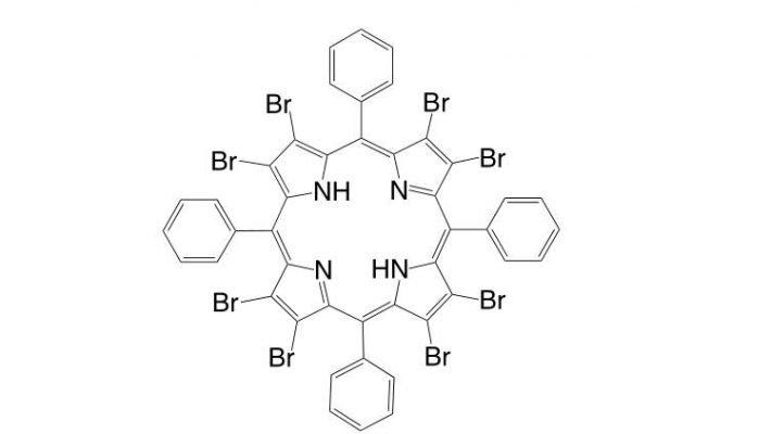 2,3,7,8,12,13,17,18-Octabromo-5,10,15,20-tetraphenylporphyrin CAS 131214-86-3