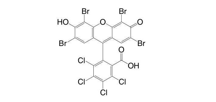 2′,4′,5′,7′-Tetrabromo-3,4,5,6-tetrachlorofluorescein CAS 13473-26-2