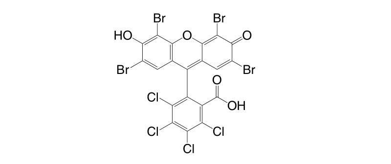 13473 26 2 - 2',4',5',7'-Tetrabromo-3,4,5,6-tetrachlorofluorescein CAS 13473-26-2