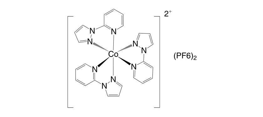 1392221 69 0 - Co(III)(bpy-pz)2(PF6)3 CAS 1346417-60-4