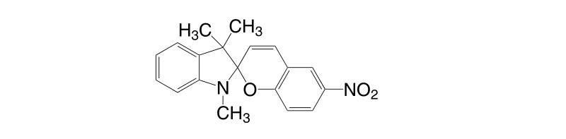 1498 88 0 - 1,3,3-Trimethylindolino-8'-methoxybenzopyrylospiran CAS 13433-31-3