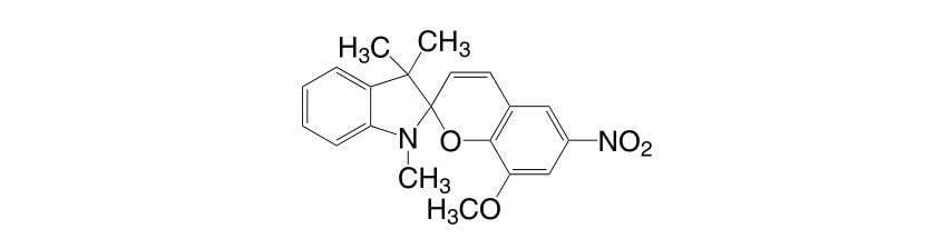 1498 89 1 - 1,3,3-Trimethylindolino-8'-methoxybenzopyrylospiran CAS 13433-31-3