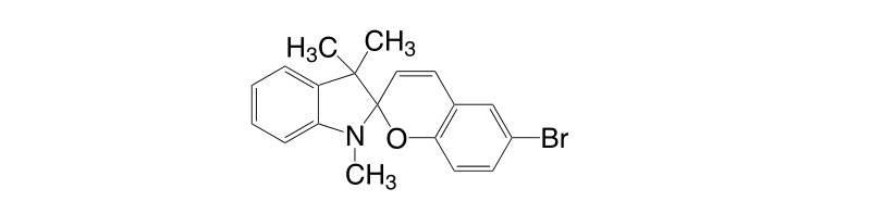 16650 14 9 - 1,3,3-Trimethylindolino-8'-methoxybenzopyrylospiran CAS 13433-31-3