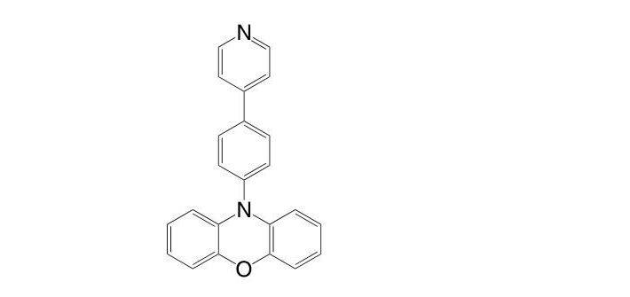 10-(4-(Pyridin-4-yl)phenyl)-10H-phenoxazine CAS 1826129-73-0