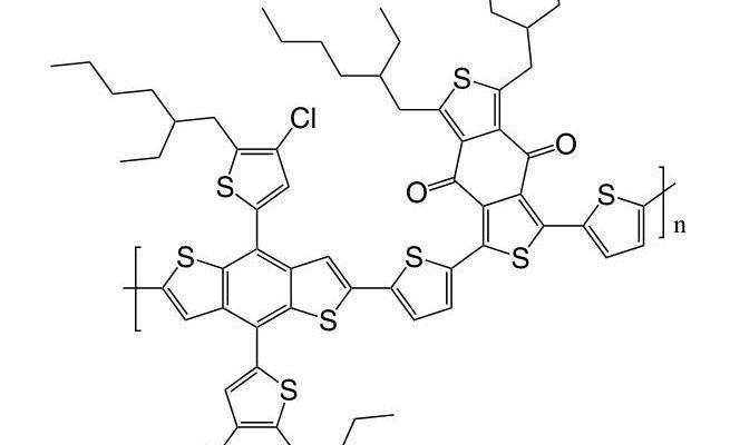 PBDB-T-2Cl CAS 2239295-71-5