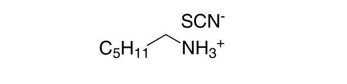n-Hexylammonium thiocyanate CAS 25162-85-0