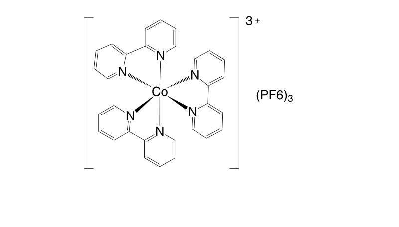 28277 53 4 - Co(III)(bpy-pz)2(PF6)3 CAS 1346417-60-4