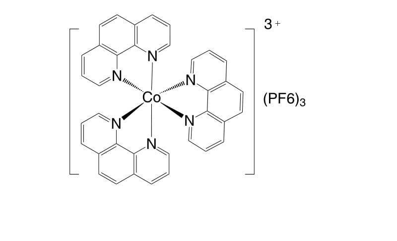 28277 59 0 - Co(III)(bpy-pz)2(PF6)3 CAS 1346417-60-4